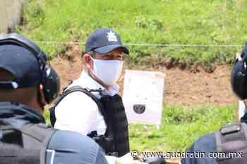 Avanza formación inicial para policías preventivos en Jiquilpan - Quadratín - Quadratín Michoacán