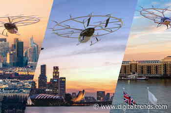 Volocopter offers tickets for first flights on its unique aircraft