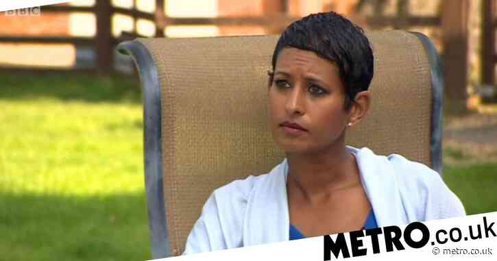 Naga Munchetty holds back tears as Colonel Tom Moore opens up about wife's mental illness and death