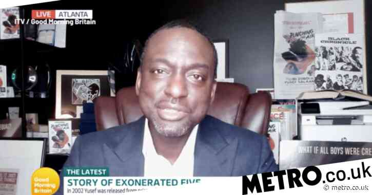 Central Park Five's Yusef Salaam 'isn't waiting for an apology' from President Donald Trump