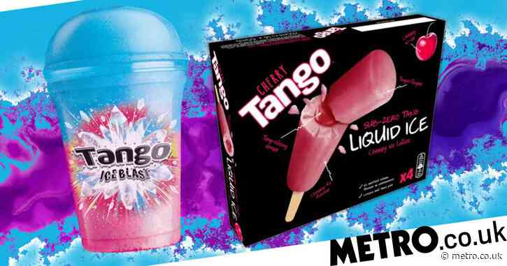 Tango launches new ice lollies which taste like Ice Blasts