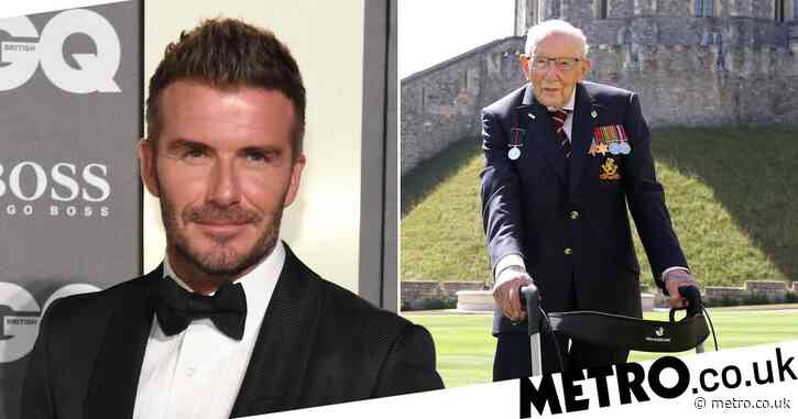 Captain Sir Tom Moore wants David Beckham to play him in biopic: 'He looks a nice person'