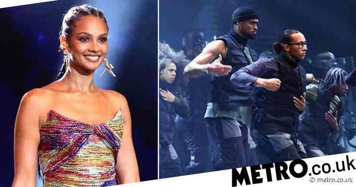 Alesha Dixon in 'floods of tears' watching Diversity's Black Lives Matter inspired Britain's Got Talent performance