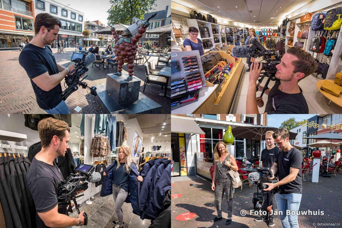 Promotiefilmpjes in binnenstad Tiel - de Tielenaar