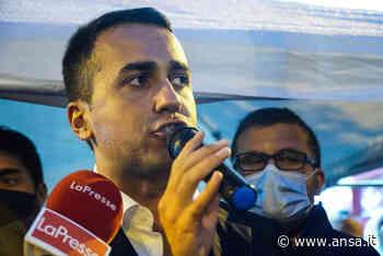 Di Maio interrotto ad Avellino da ex attivista M5S - Agenzia ANSA