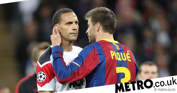 Rio Ferdinand reveals why Barcelona star Gerard Pique failed at Manchester United