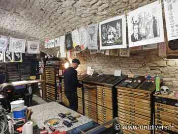 Atelier de typographie et de linogravure « Affiche Moilkan » Baume-les-Dames - Unidivers