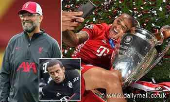 Liverpool agree £25m with Bayern Munich for Thiago Alcantara