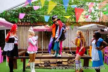 Alice children's show in Acton pub's outside theatre