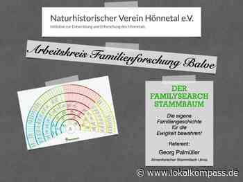 Terminabsage: Arbeitskreis Balve und Umgebung sagt Treffen ab .... - Fröndenberg/Ruhr - Lokalkompass.de