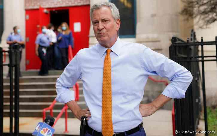 New York City mayor Bill de Blasio furloughs himself, 500 staff as budget deficit sky-rockets