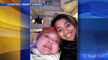 South Jersey teen Trinity Jagdeo creates books in honor friend with special needs - WPVI-TV