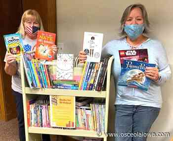 Osceola Public Library gives children books for birthdays - Osceola Sentinel Tribune