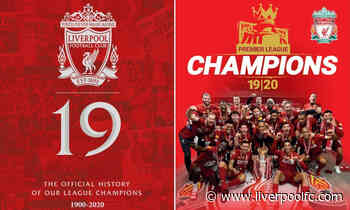 Order now: Four new official books celebrate Liverpool's title triumph - Liverpool FC