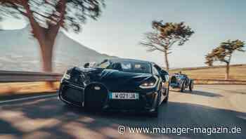 Volkswagen plant Bugatti-Verkauf an Rimac