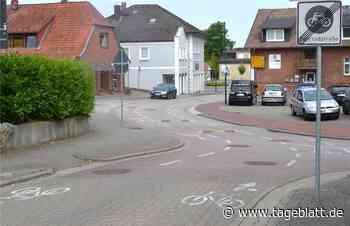 Signalfarben sollen Fahrradstraße in Harsefeld sicherer machen - TAGEBLATT - Lokalnachrichten aus Harsefeld. - Tageblatt.de - Tageblatt-online