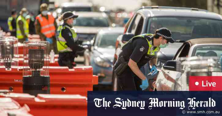 As the day unfolded: Victoria records just 28 COVID-19 cases in lowest daily new case tally in almost 3 months; state's regional areas reopen as Australian death toll jumps to 832 - The Sydney Morning Herald