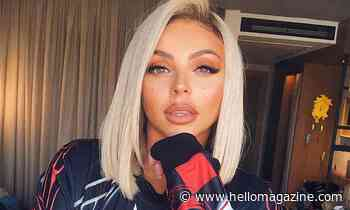 Jesy Nelson wows in dragon print mini dress – and it's in the sale