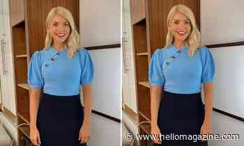 Holly Willoughby's £25.99 Zara knit is too gorgeous for words