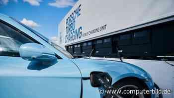 Porsche Turbo Charging: Mobile Ladestation für Elektroautos
