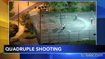 Quadruple shooting on Philadelphia basketball court leaves 2 dead: Police - WPVI-TV