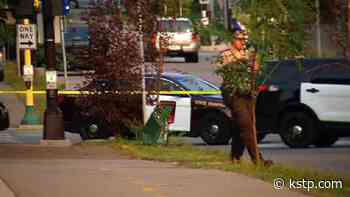 Suspect vehicle in carjacking, armed robbery and police chase flips; 2 teens in custody - KSTP