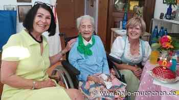 München: Elisabeth Richter ist mit 107 die Älteste in Pullach - hallo-muenchen.de