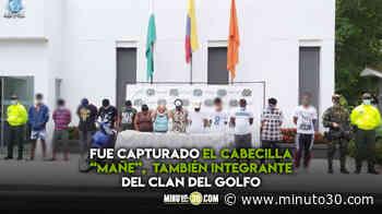 Cayeron 13 presuntos criminales que tenían a Chigorodó invadido de droga - Minuto30.com