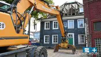 Das Patrizierhaus in Schwelm ist bald Geschichte - WP News