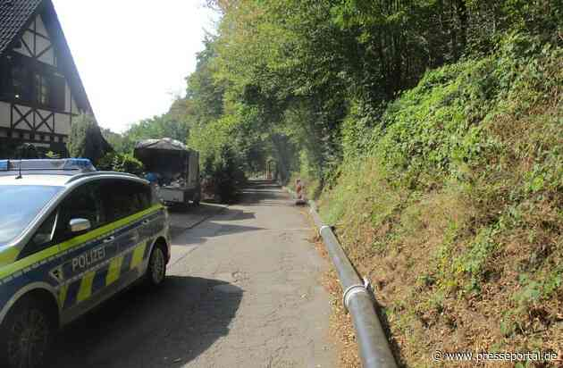 POL-RBK: Leichlingen - Zeugen nach Unfallflucht mit Umweltschaden in Wietsche gesucht