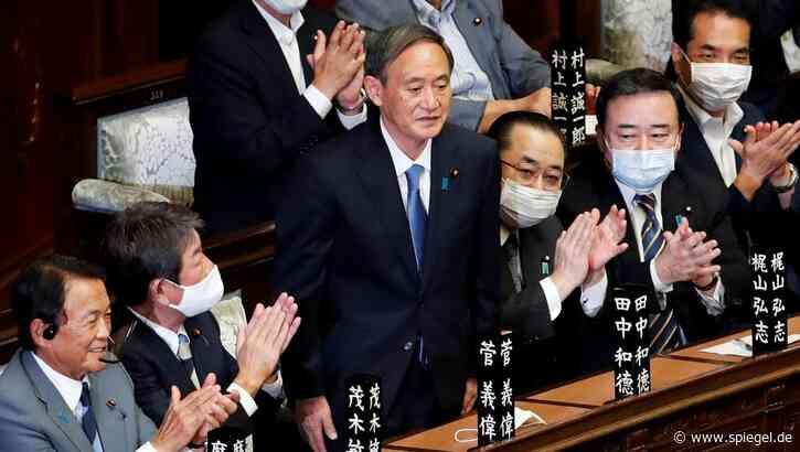 Nachfolger von Shinzo Abe: Yoshihide Suga ist neuer Premier Japans - DER SPIEGEL