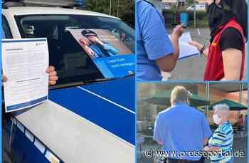 POL-PPTR: Wer auflegt, gewinnt Polizisten informieren in Waldrach und Kordel - Presseportal.de