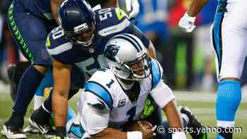 Seahawks prepare for new challenge from familiar foe Cam Newton with Patriots - Yahoo Sports