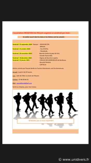 atelier de danses basques le bourg pelussin,pelussin (42) vendredi 25 septembre 2020 - Unidivers
