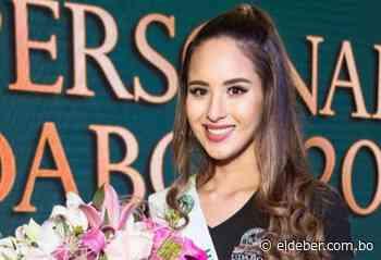 María José Hurtado le da a Camiri su segundo título en las preliminares del Miss Santa Cruz 2020 - EL DEBER