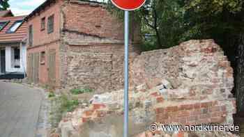 Wie soll es weitergehen mit dem Stadtmauerrest? - Nordkurier