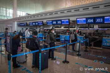 Coronavirus: a Wuhan primo volo internazionale dopo 8 mesi - Ultima Ora - Agenzia ANSA