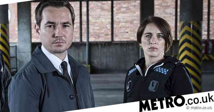 Line of Duty's Martin Compston scares living daylights out of Vicky McClure in hilarious clip