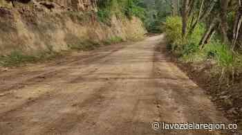 Reinician labores de pavimentación de la vía de ingreso a Oporapa - Noticias