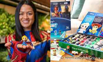 Woolworths stores RUN OUT of Disney+ Ooshies