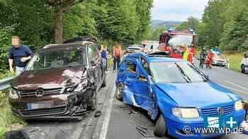 Siegen/Netphen: Fahrer verliert Kontrolle – Kinder verletzt - Westfalenpost