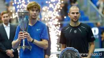 Se canceló el ATP 250 de Moscú por el coronavirus - ESPN