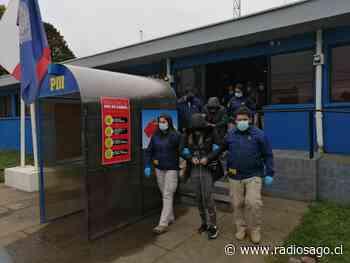 PDI Osorno desarticula organización criminal que asaltaba camiones de tabaco en el sur - Radio Sago