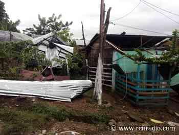 Vendaval destruyó 500 viviendas en Puerto Libertador, Córdoba - RCN Radio