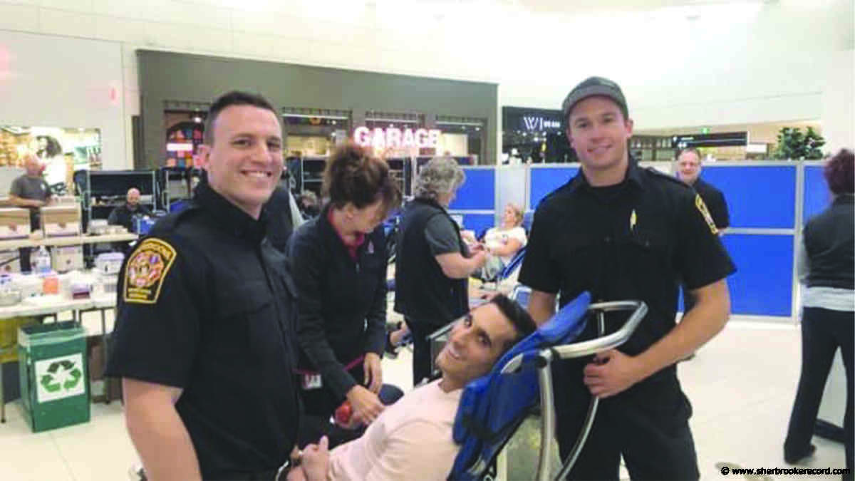 Local firefighters to host blood drive in Sherbrooke - Sherbrooke Record