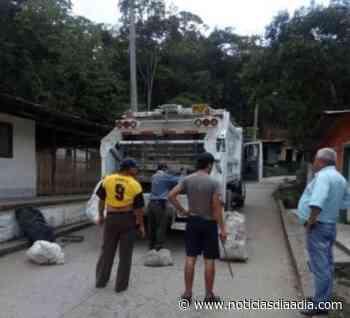Jornada comunitaria de aseo en Yacopí, Cundinamarca - Noticias de Cundinamarca en Día a Día - Noticias Día a Día