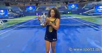 Tennis: Kobe Bryant inspirierte Naomi Osaka zum Sieg bei den US Open - SPORT1