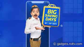 Flipkart Big Saving Days Sale 2020 Kicks Off: Best Offers on Mobile Phones, Laptops, and Other Electronics Deals