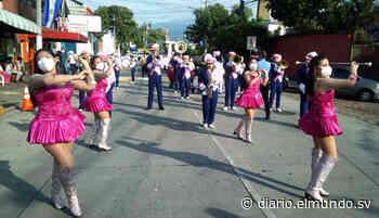 Antiguo Cuscatlán realizó desfile cívico pese a pandemia y esto dijo la alcaldesa - Diario El Mundo
