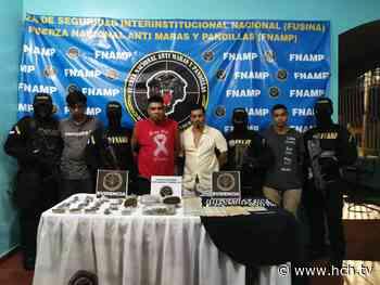 Se disponían a vender drogas en aldea San Antonio, La Masica, según FNAMP - hch.tv